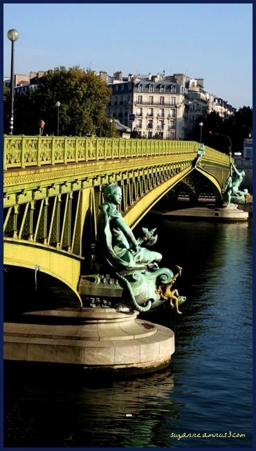 image, paris, pont, mirabeau
