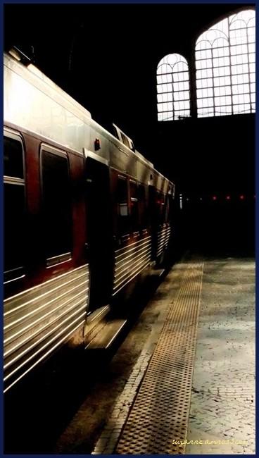 image, train, monochrome, lisbon, portugal
