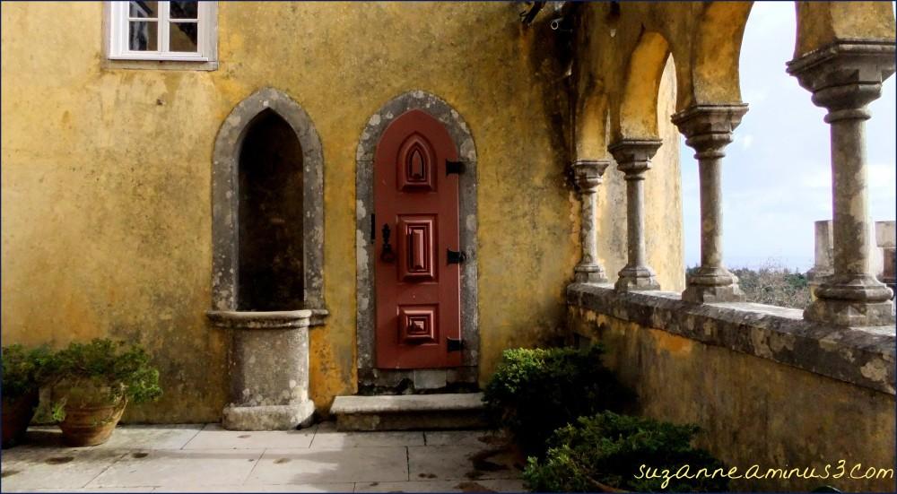 image, verandah, pena, palace, sintra, portugal