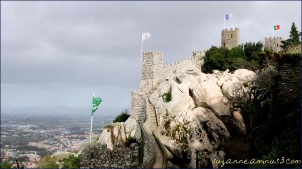 image, moorish castel, sintra, portugal