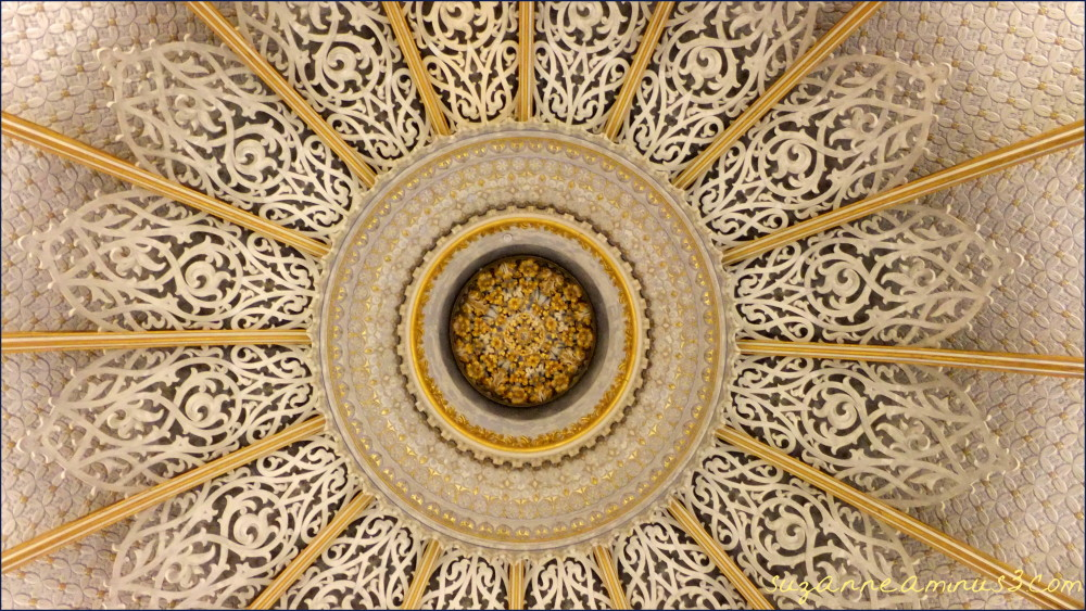 image, ceiling, rose, monserrate, palace, portugal