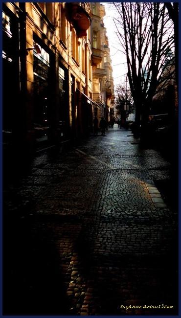image, street, late, day, prague