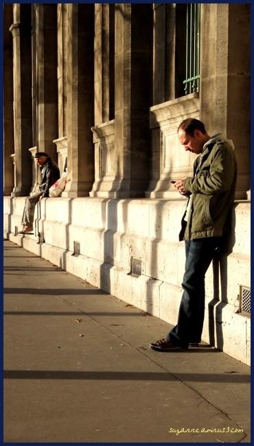 image, men, street, paris