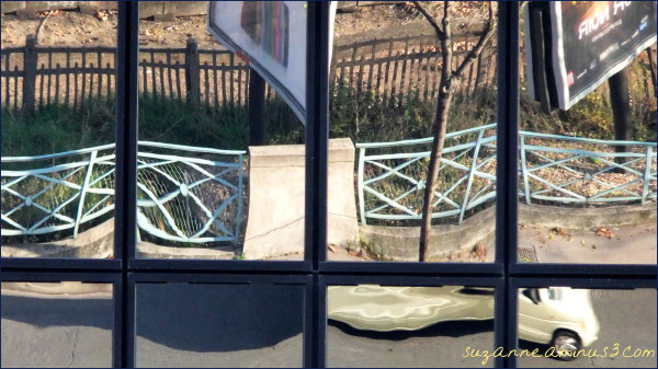 image, reflection, building, window, distorted,