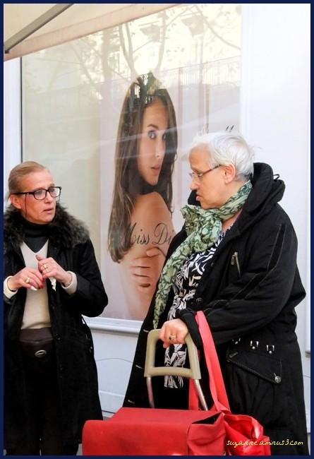image, women, poster, paris