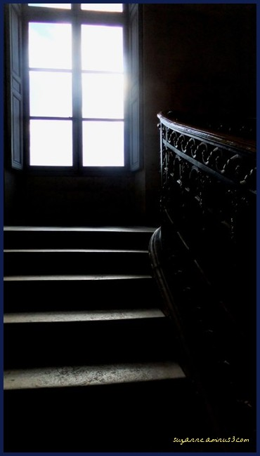 image, monchrome, window, staircase, versaille,