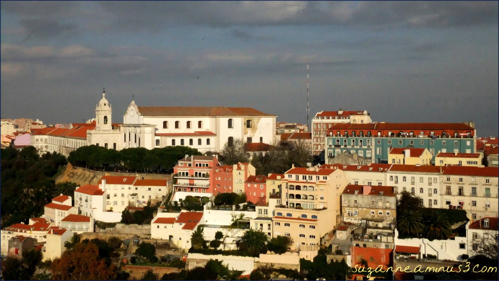 image, Lisbon, Portugal, building, facades, lisbon