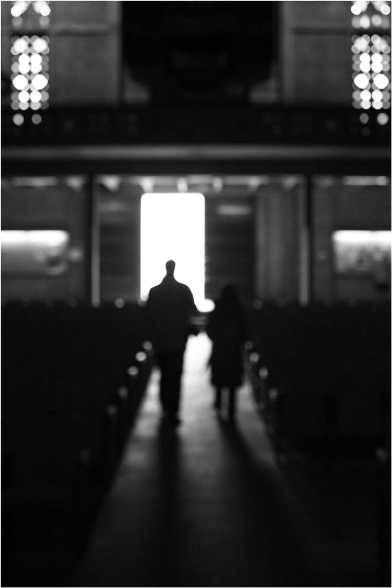 Saint Joseph Black & White