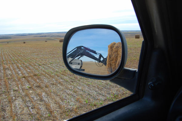 Hauling bales - the truckers point of view