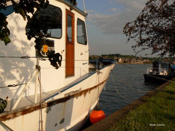 Au bord de la Meuse