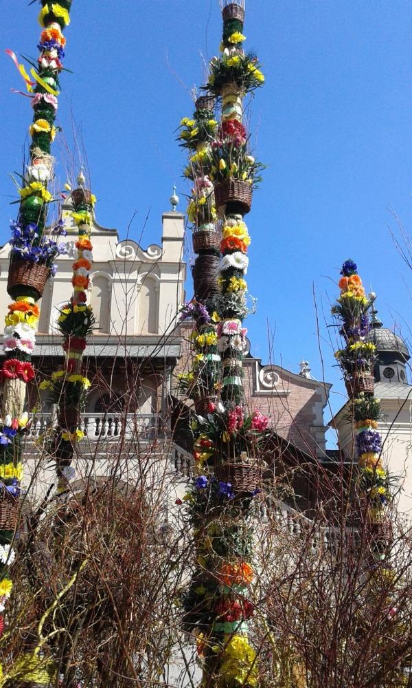 Marché de Pâques (Cracovie)