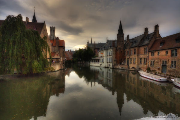 Bruges Afternoon just a bit later