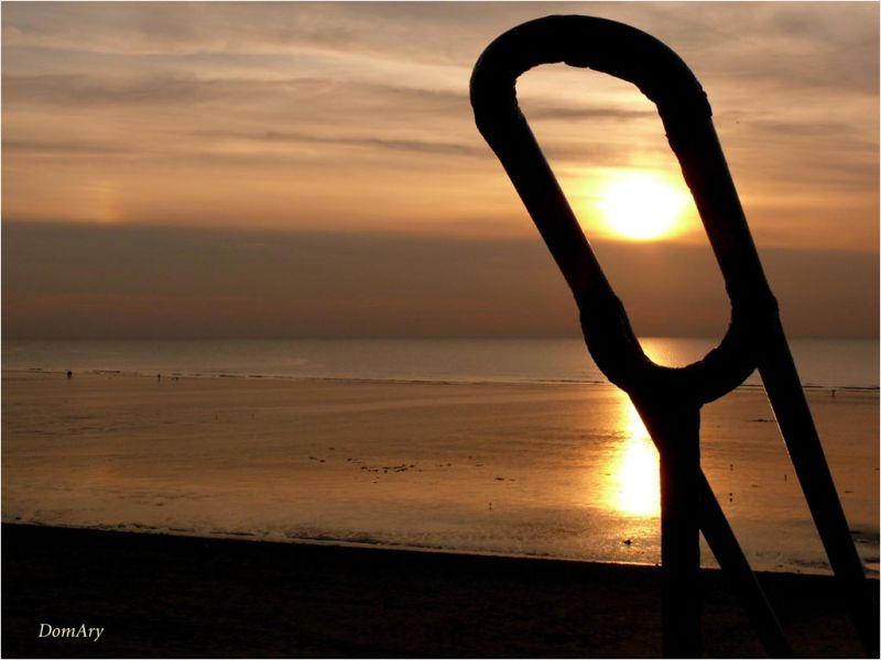 Soleil en Baie de Somme
