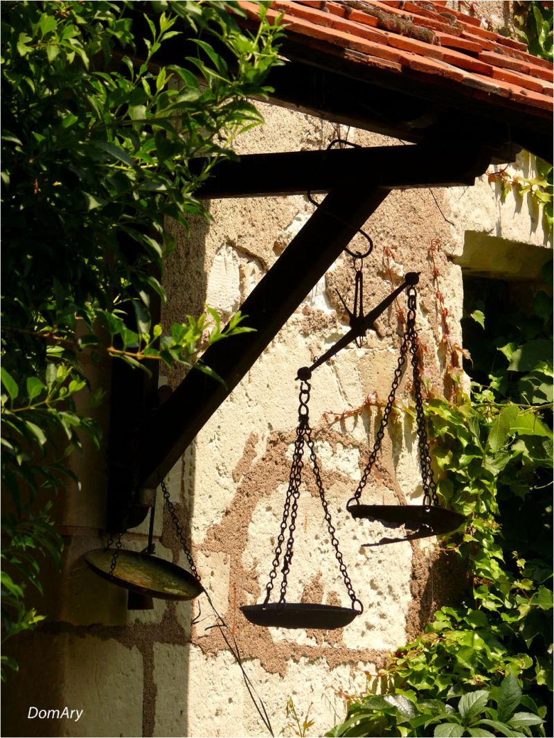 Balance de la justice...