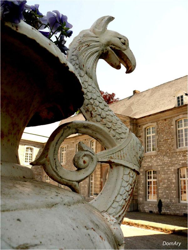 Un château  en Belgique...