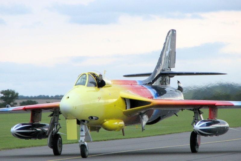 Hawker Hunter Mk57 G-PSST