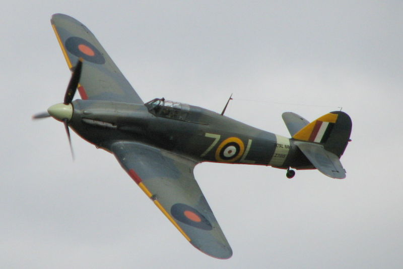 Sea Hurricane IIB G-BKTH