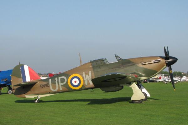 Hawker Hurricane MkI G-HUPW