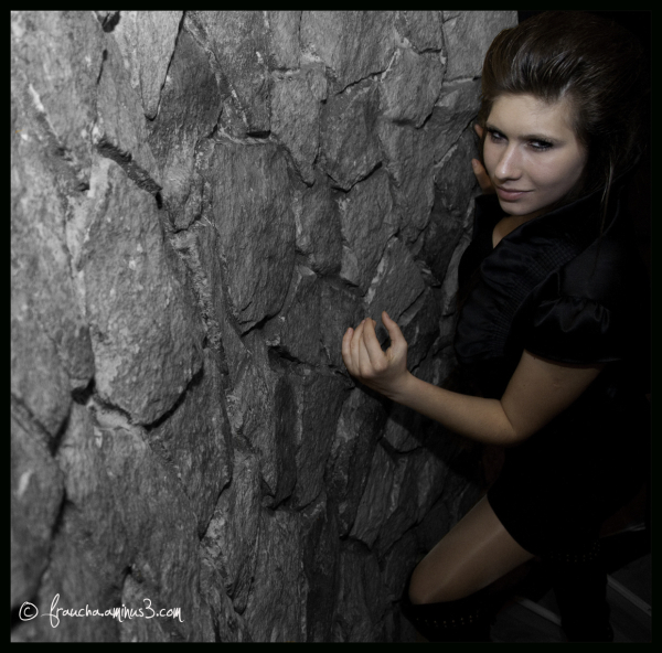 Girl On Wall
