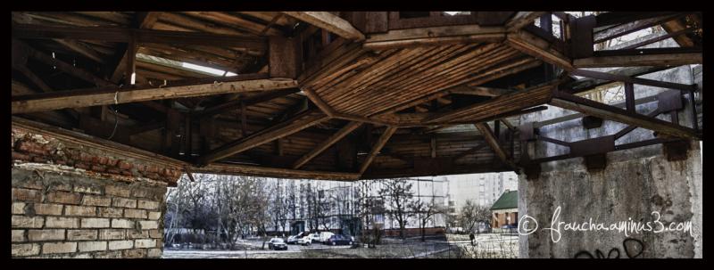 OMG --- Old Bus Stop Ceiling