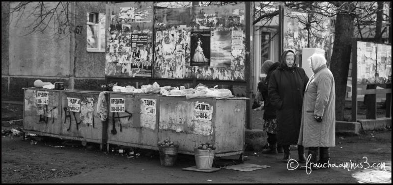 A Babushka Market ...
