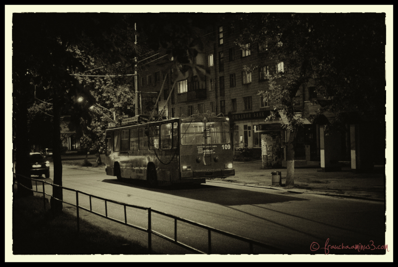 The Night Bus Home