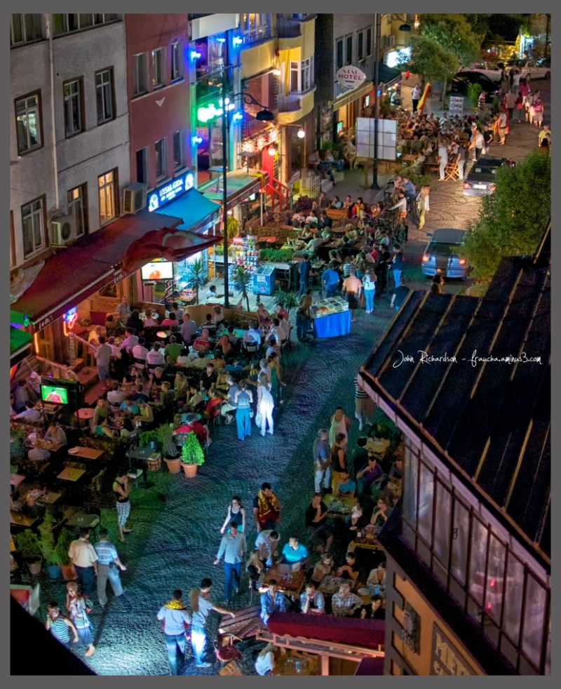 Night Food in Old Istanbul