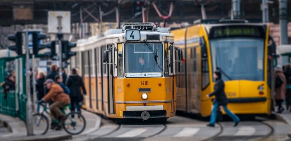 Tram #4, Budapest
