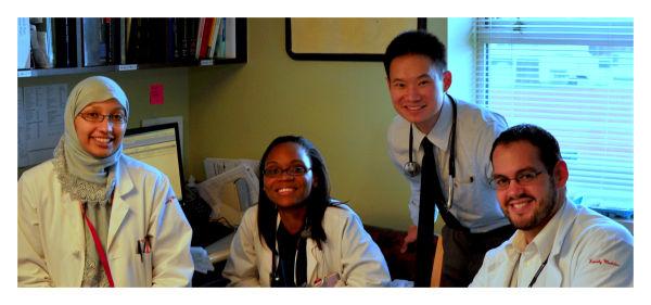 PPMC Family Medicine Inpatient Team, August 2010