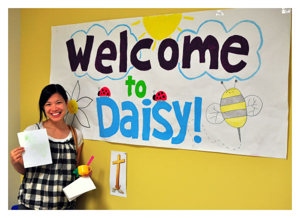 phi at daisy class, summer 2010