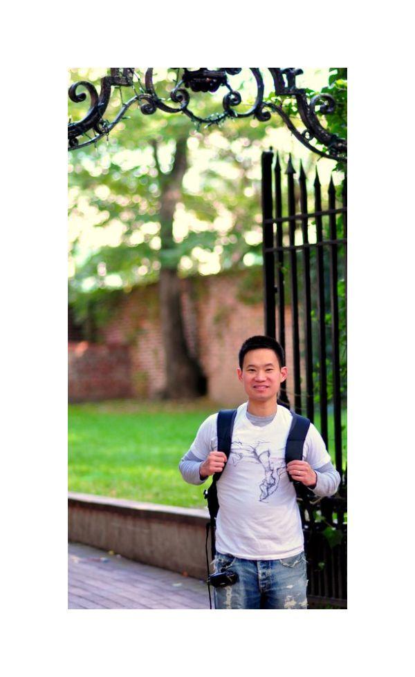 danny at gate, penn campus, philadelphia fall 2010
