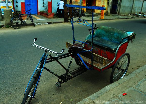 Cycle-rickshaw