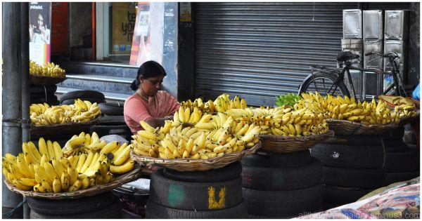 The banana lady