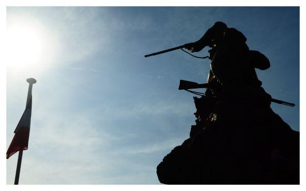 In memory of war heroes