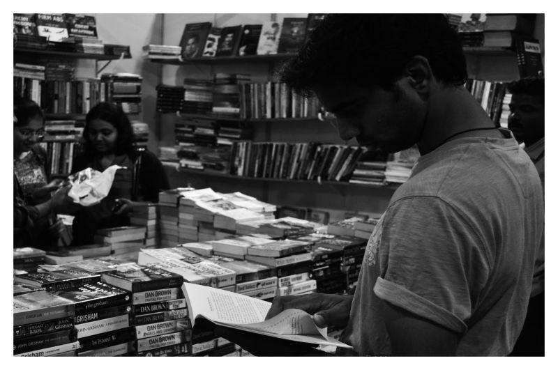 At the book fair - 1