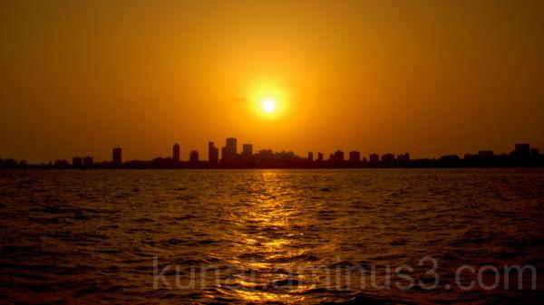 The Bombay skyline