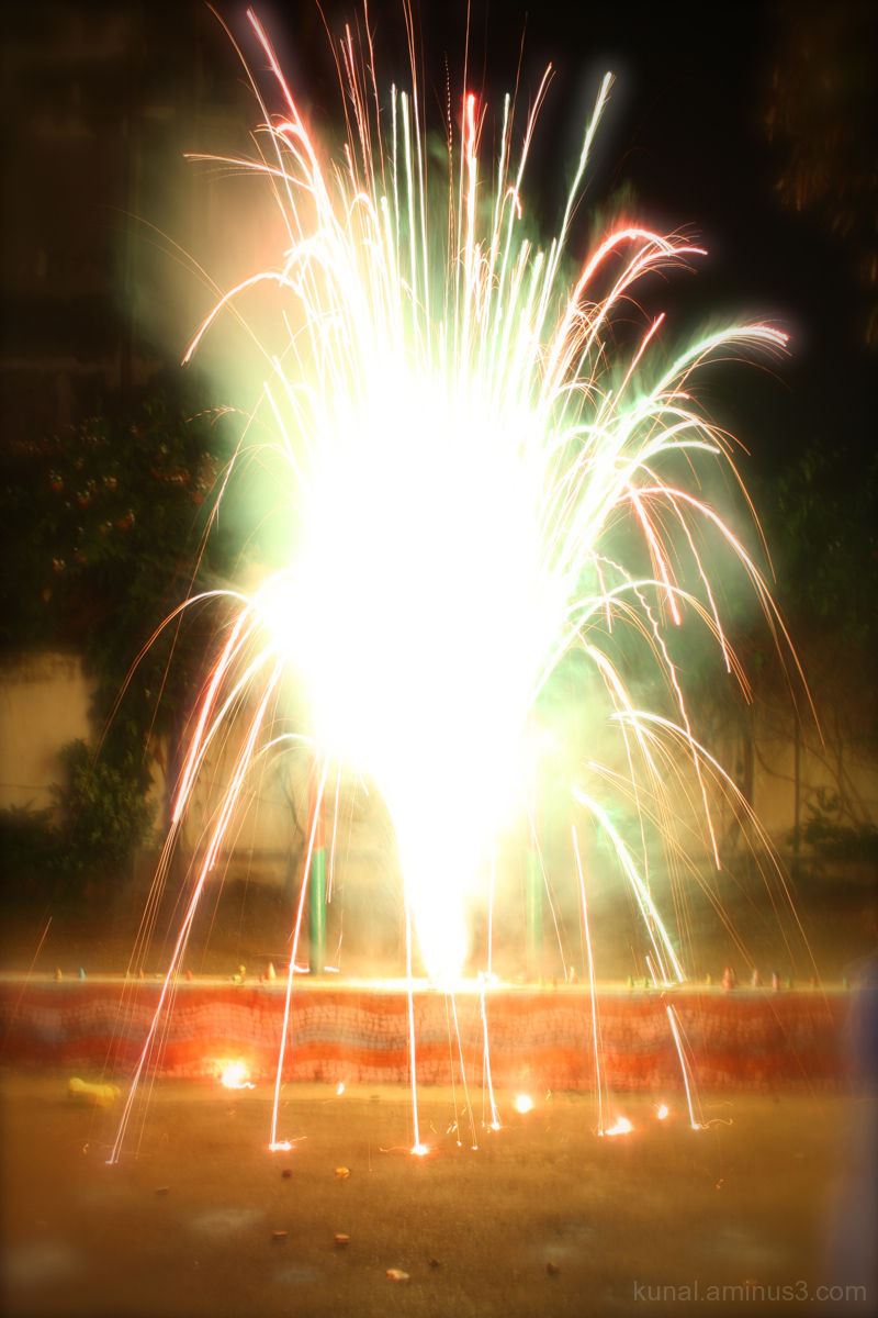 Fireworks of Diwali