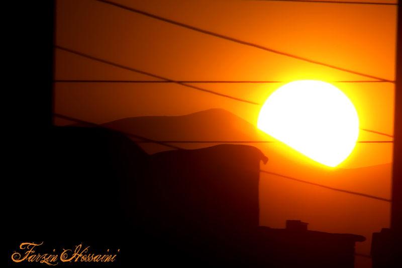 sun,sunset