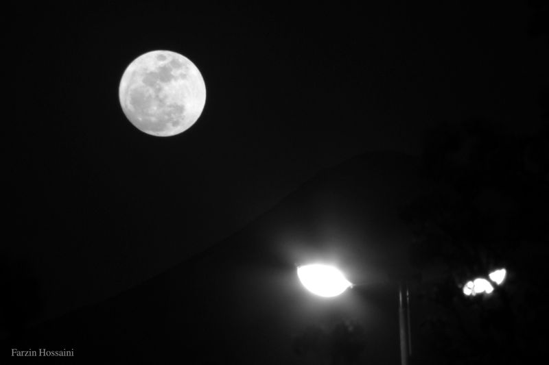 big moon !