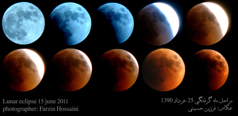 lunar eclipse levels 15 jun 2011