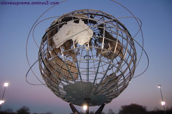 Unisphere at Twilight