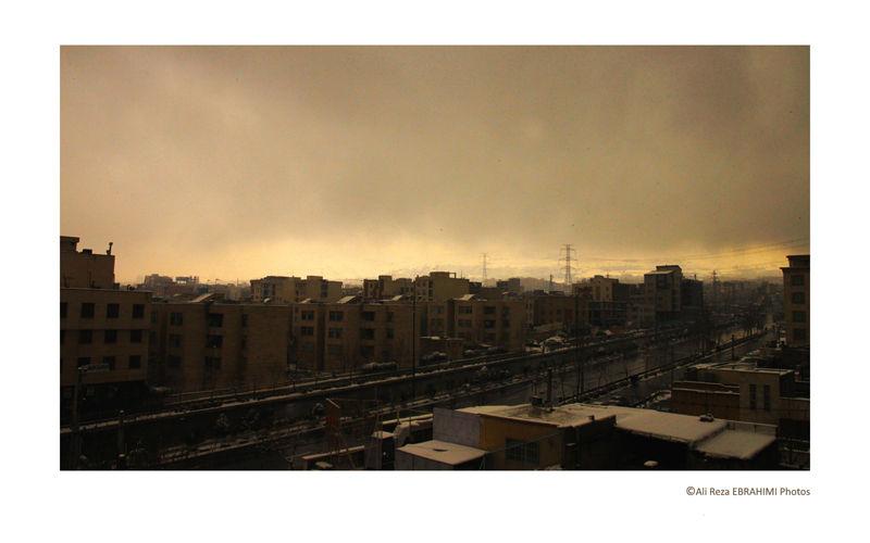 Cloudy Tehran