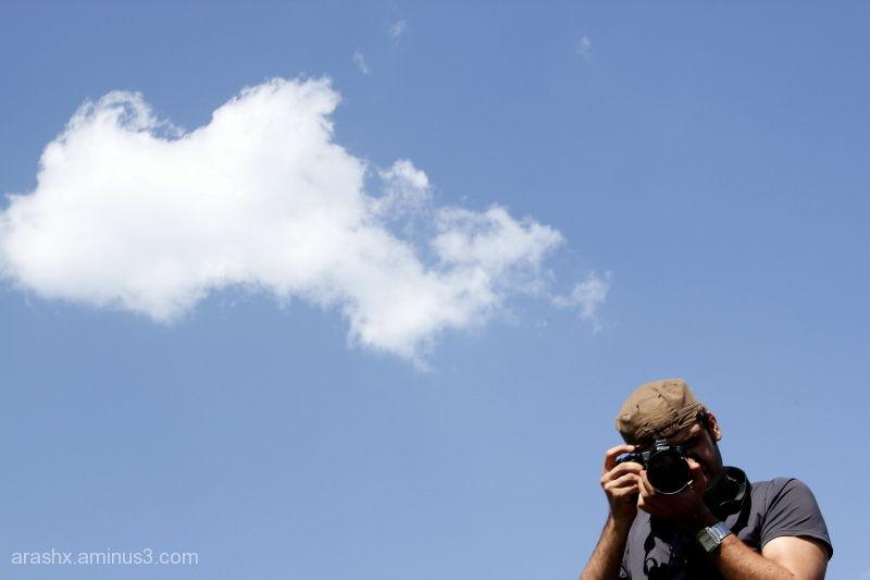 My cousin & cloud