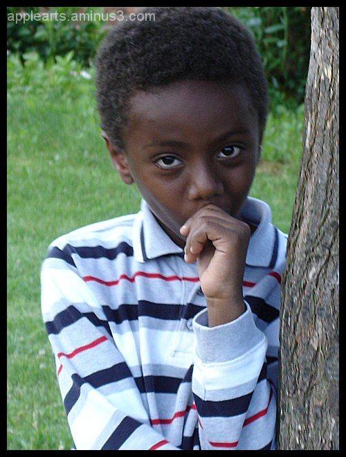 Scared Child Boy sad