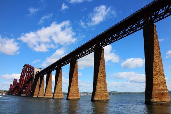 bridge over waters.