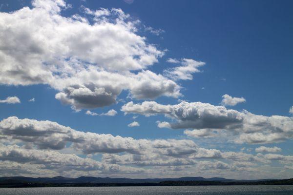 fleeting clouds.