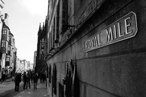 royal mile.