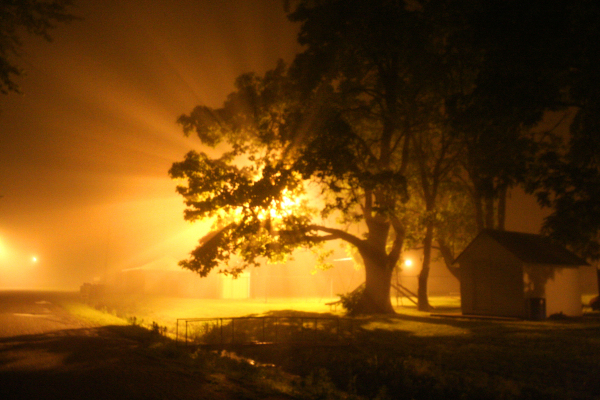 Humidity fog
