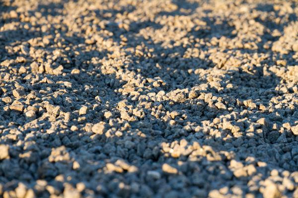 Wavy stones