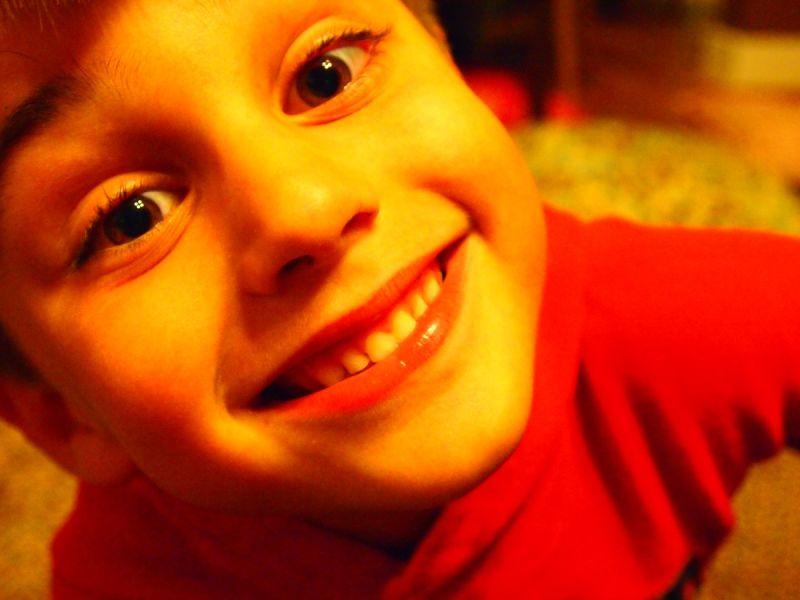 kiddo close-up